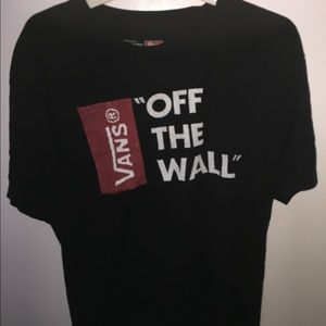 vans off the wall shirt size large